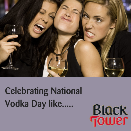 balck tower vodka day