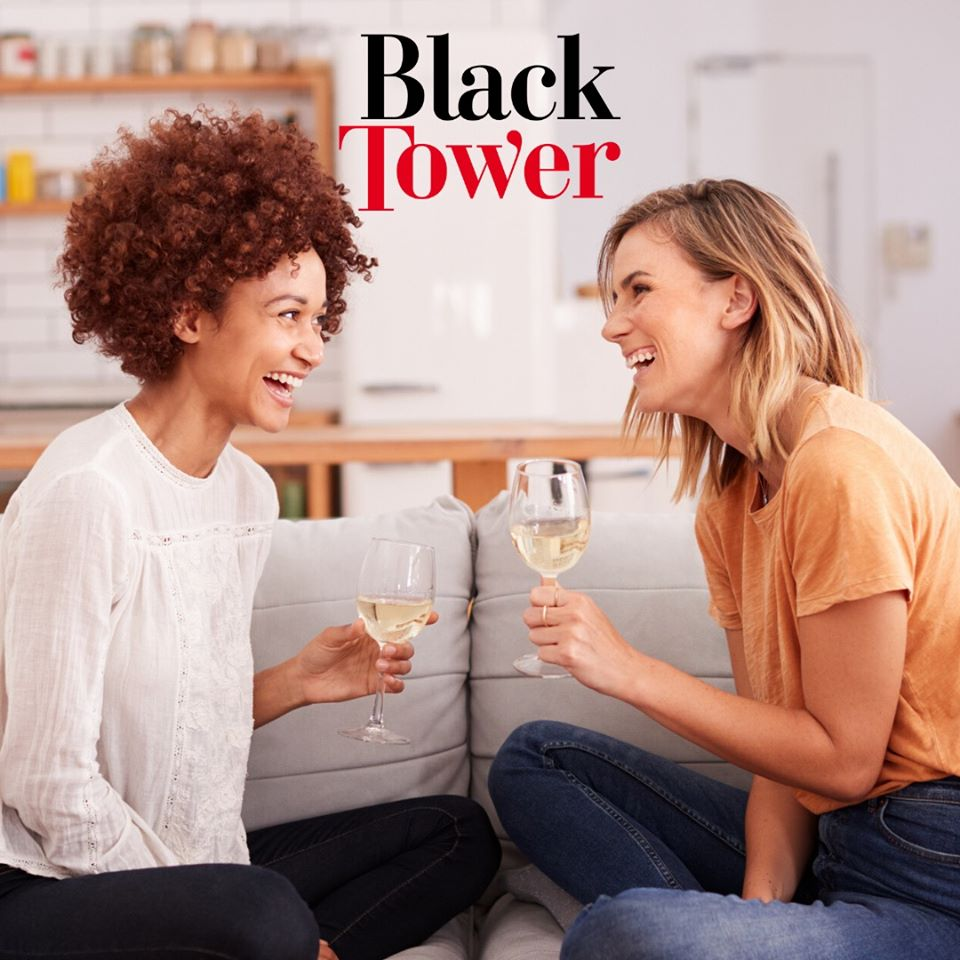 black tower laughter day