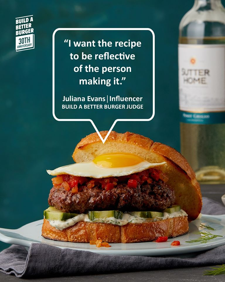 sutter home burger recipe